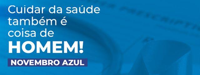 Novembro Azul: mês de proteção e conscientização sobre a saúde do homem