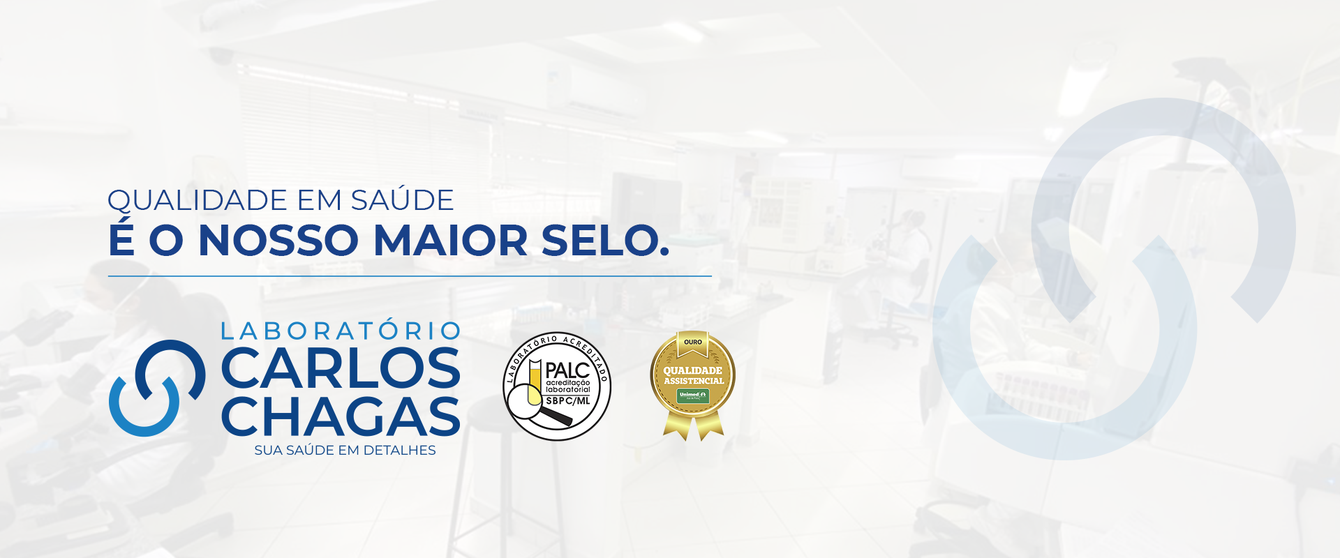 Qualidade Laboratório Carlos Chagas